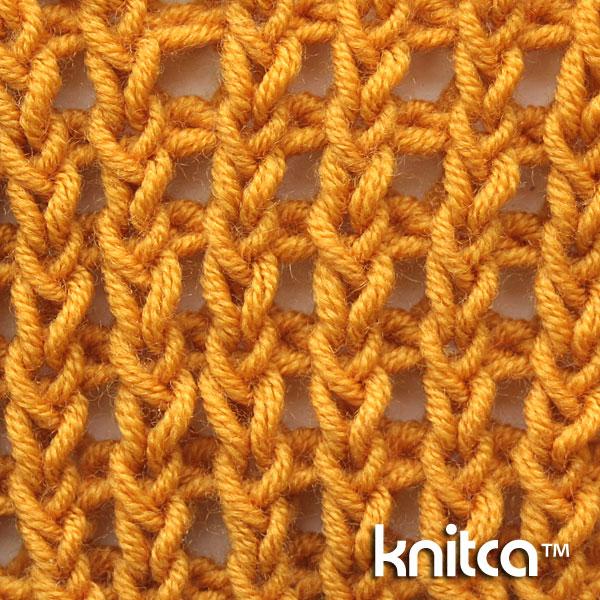Knit and Purl Knitting Stitch Pattern