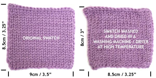 Washing Merino yarn