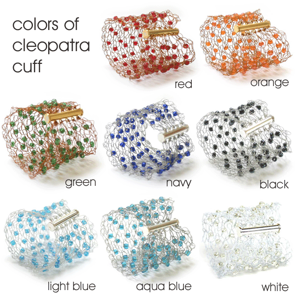 Colours of Cleopatra Cuff