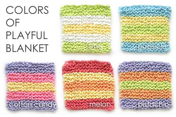 Colours of Playful Blanket