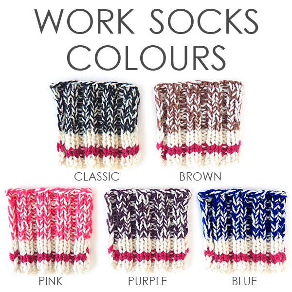 Colours of Work Socks